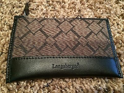 Longaberger Coin Purse - Signature Pattern