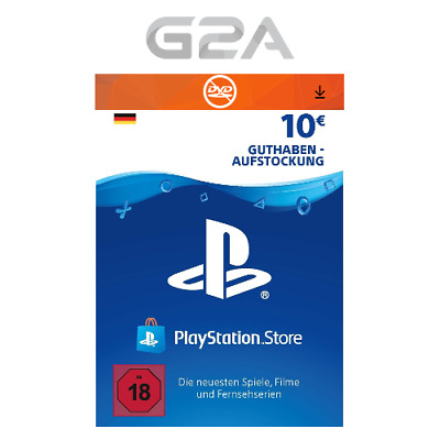 PlayStation Network 10 EURO Card Code DE PSN PS4 PS3 - Guthaben 10€ Key