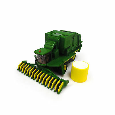 1/64 Ertl John Deere Cs690 Cotton Stripper W/ Bale