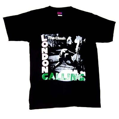 The Clash - London Calling - New with Back Lyrics - Classic Band T-Shirt