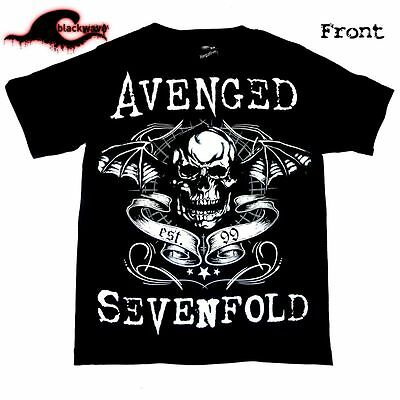 Avenged Sevenfold - New Exclusive DeathBat Design - Band T-Shirt