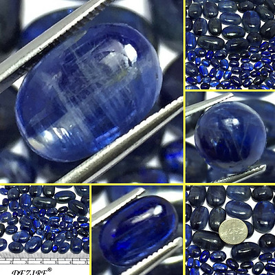 Wholesale Price Lot Natural Amazing Kyanite Nice color Cab Gemstone Oval Shape