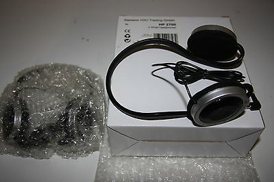 Kit Vdo Siemens 2 X Casques Headphone Filaire Wired Pour Dvd Voiture Car Neufnew