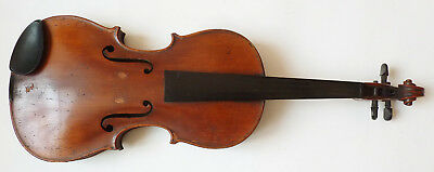 Old violin whole 4/4 19e century signed STAINER violin