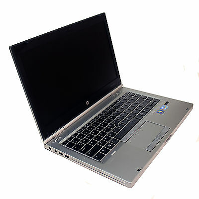 "HP Elitebook 8470p 14"" HD LED Laptop 3rd Gen i5 2.6GHz 8GB 512GB SSD DVDRW Win10"