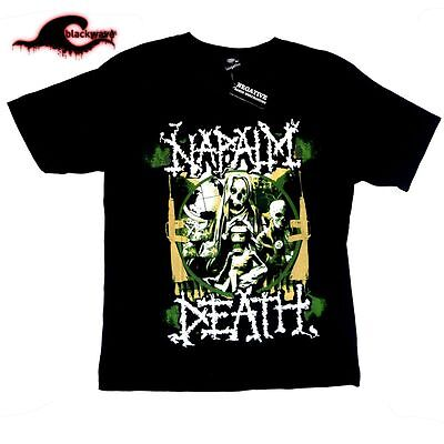 Napalm Death - New - Metal Band T-Shirt