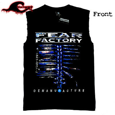 Fear Factory - Demanufacture - Modified Cut-Off Band Singlet