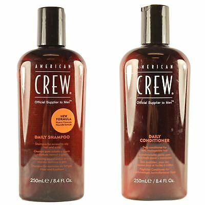 American Crew Professional Men's Daily Shampoo & Conditioner Normal Oily Hair