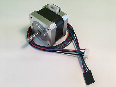NEMA Stepper Motors - 1.8deg - 5mm Shaft - 3D Printer, Arduino, RepRap, CNC, etc