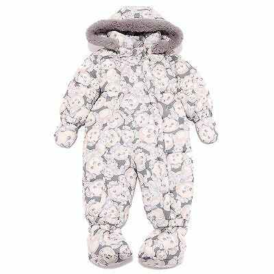 5340T tuta intera MONNALISA BEBE' TEDDY multicolor bimba jacket kids
