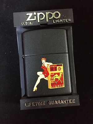 Kamel Lights Pin-up Prototype Rare Z281 Camel Zippo Lighter