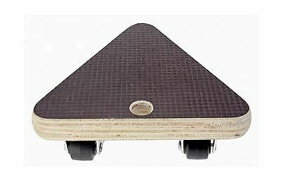 Move-It 3360 5-Inch Triangle Platform Dolly 220-lb Load Rating