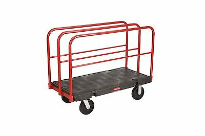 Rubbermaid Commercial FG446800BLA Sheet & Panel Truck 2000-Pound Capacity