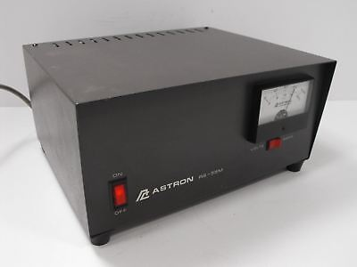 Astron RS-35M 13.8 VDC Linear 35 A Power Supply 25 A Cont w/ Meter (Tested)