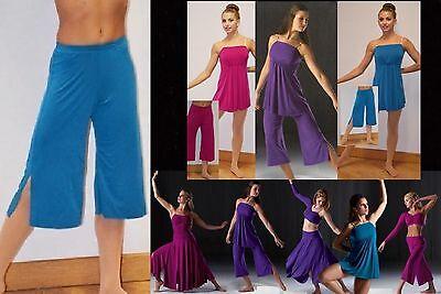 Reflections Gauchos Only Dance Costume Mix n Match Jazz Tap Ballet Contemporary