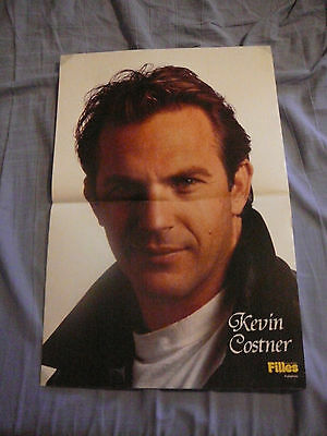 KEVIN COSTNER PIN UP POSTER PHOTO AFFICHE 11 x 16 CLIPPING