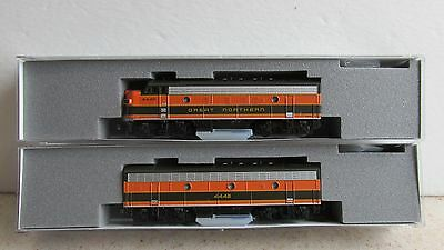 Kato #106-0420 ~ Great Northern F7 A/b Powered Locomotive Set ~ N Scale