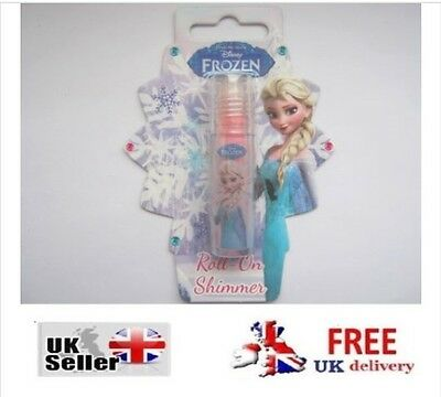 Frozen Roll on Shimmer Elsa Disney Girls Gift Present Anna Olaf Beauty Body Skin