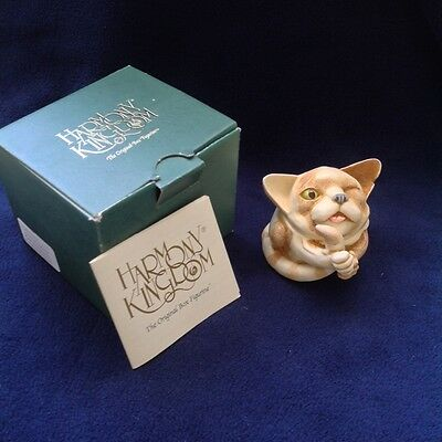 Harmony Kingdom 'Alley Cat's Meow'  TJMINEVE4 (signed box figurine) NEW