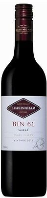 Leasingham `Bin 61` Shiraz 2015 (6 x 750mL), Clare Valley, SA.