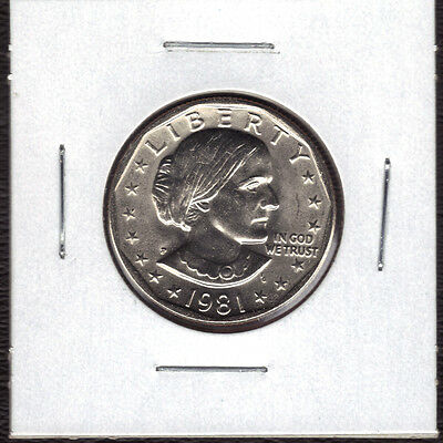 1981-P Uncirculated  Susan B Anthony Dollar