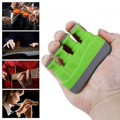 1 PC Guitar Piano Chinese Zither Hand Finger Exerciser Trainer Strengthener