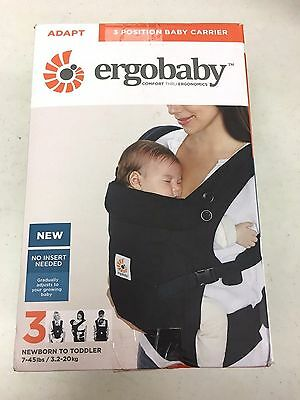 Ergobaby Adapt 3 Positions Baby Carrier - Black - FREE SHIPPING