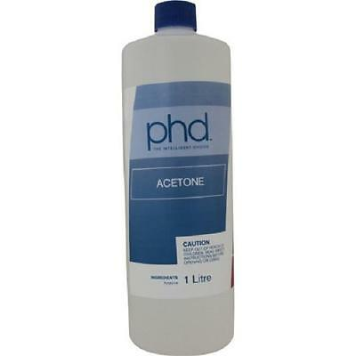 PHD ACETONE NAIL POLISH REMOVER 1 Litre Pick Up Only Melbourne
