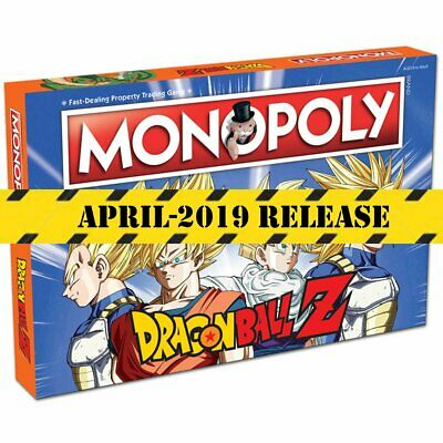 Dragon Ball Z Monopoly Board Game Family Party Easter Christmas Gift Game