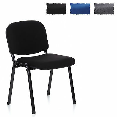 Conference Chair / Visitor Chair XT 600 Black hjh OFFICE