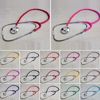 Single Heads EMT Stethoscope for Doctor Nurse Vet Medical Student PVC Echoscope