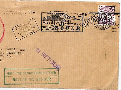 HH188 1964 GB SCOTLAND REGIONAL Aberdeen British Linen Bank Cover Sevilla PTS