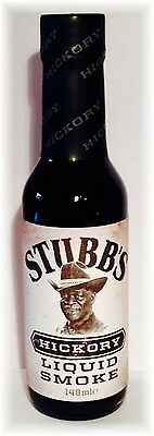 (100ml €4,31) Stubb`s Liquid Smoke HICKORY 145ml