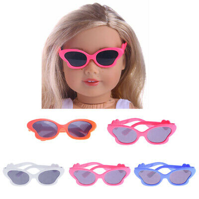 "5 Pairs Glasses Eyeglasses for 18"" American Girl Dolls Clothes Accessories"