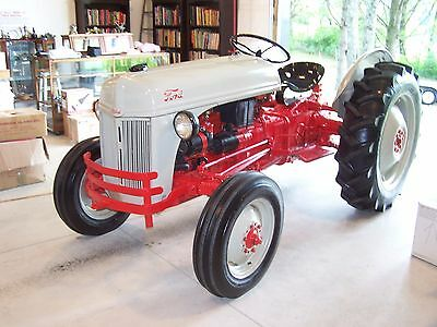 1952 Ford 8N Antique Tractor-- All Re-Done And Very Nice