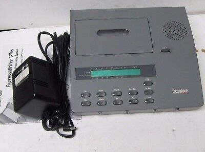 Dictaphone Express Writer 2750 Cassette Voice Processor W/adapter Clean Ready