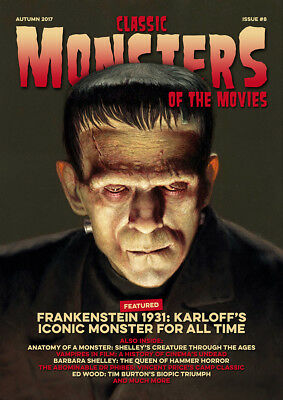 Classic Monsters Magazine Issue 8: Horror Film and Horror Movie Magazine