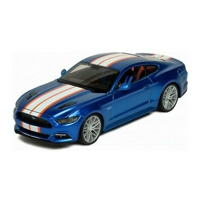 Maisto Ford Mustang 2015 Blue 1:24 Scale Custom Shop