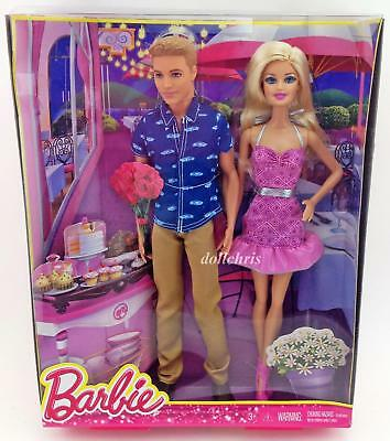 Mattel Gift Barbie and Ken Dolls Sweetheart Gift Set 2014 Barbie Convention NRFB