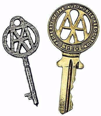 Antique Automobile Association AA Keys - First Issued + 1920 - Scarce