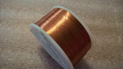 ZME217 Spool BELDEN #8085 Solid Bare Copper Magnet Wire 38AWG  Approx. 19,267 Ft