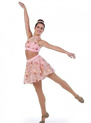Poetry in Motion Dance Costume Ice Skating Dress Ballet Contemporary Lyrical