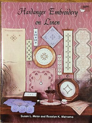 Hardanger Embroidery on Linen by Susan L Meier and Rosalyn Watnemo