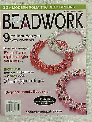 Beadwork  Magazine - FebMarch  - 2008