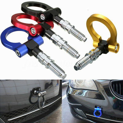 Racing Coche Tow Towing Hook Trailer Ring T2 JDM E46 E81 E30 E36 E90 E91 E92 E93