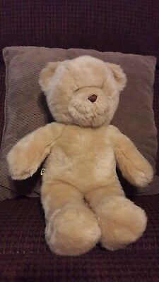 Build A Bear Workshop Beige Teddy Bear Plush Stuffed Animal 15""