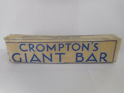 Vintage Cromptons Giant Soap Bar .. Bunyip Soaps Adelaide South Australia