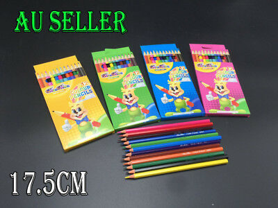 Bulk Lot 12-288 Kids Colouring Pencils Drawing Art Craft Party Loot Bag Fillers