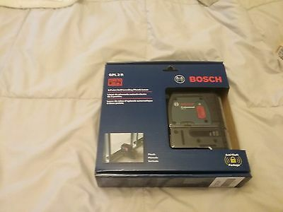 Bosch GPL 2 R 2-Point Self-Leveling Plumb Laser NEW *FREE FAST US SHIPPING