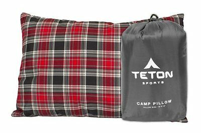 TETON Sports Camp Pillow Perfect for Camping and Travel; Ultralight Pillow;